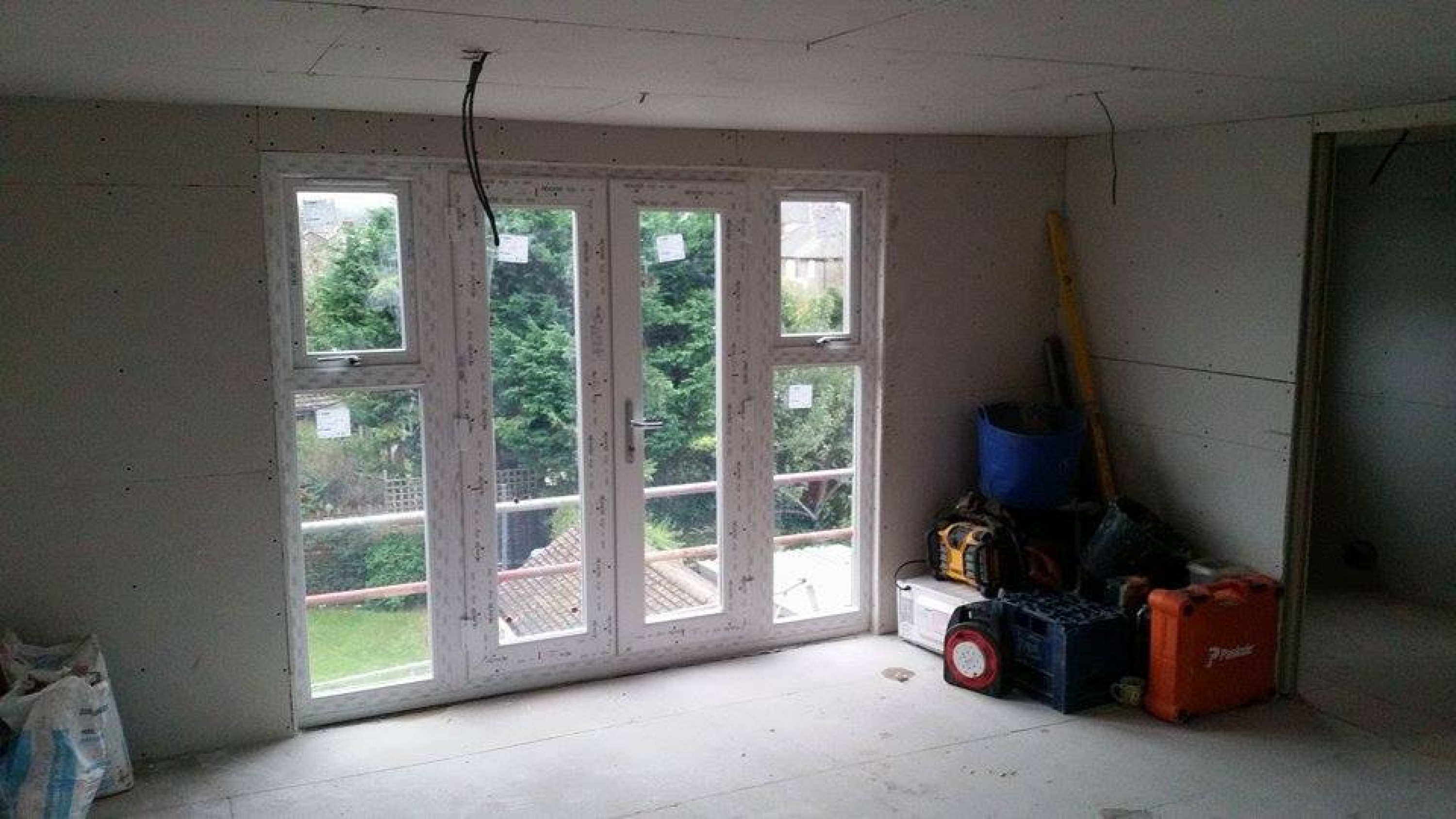 view of the large doors & windows produced by Window Store Cardiff