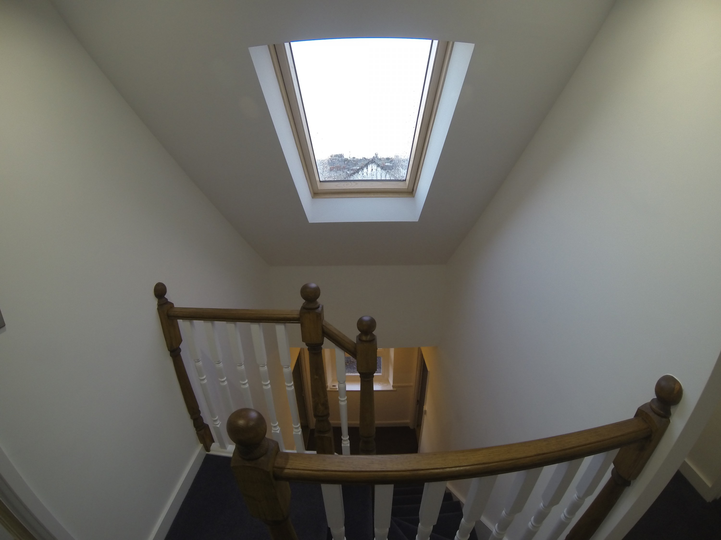 Velux over new stairwell